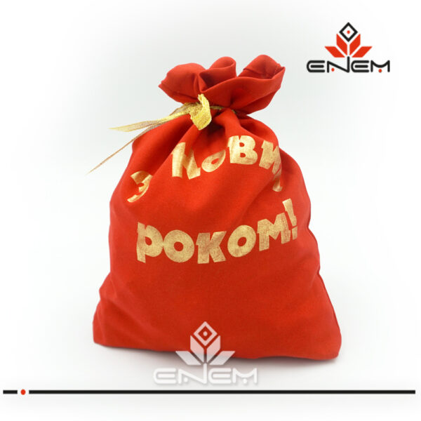 подарочный мешок для новогодних подарков купить оптом