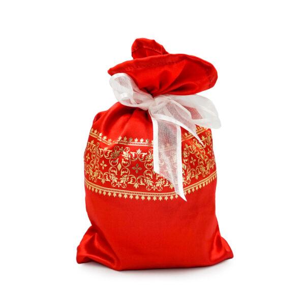 тканевая упаковка, мешок для подарков