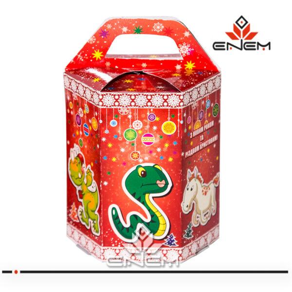 картонна новорічна упаковка