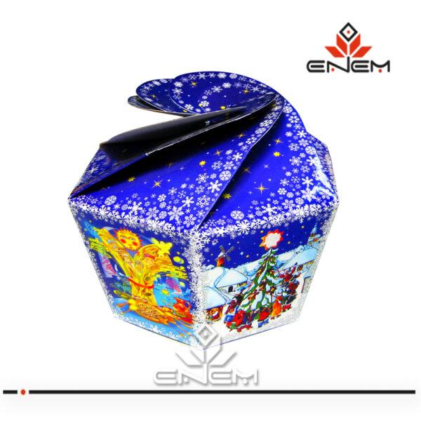 коробки для упаковки різдвяних подарунків