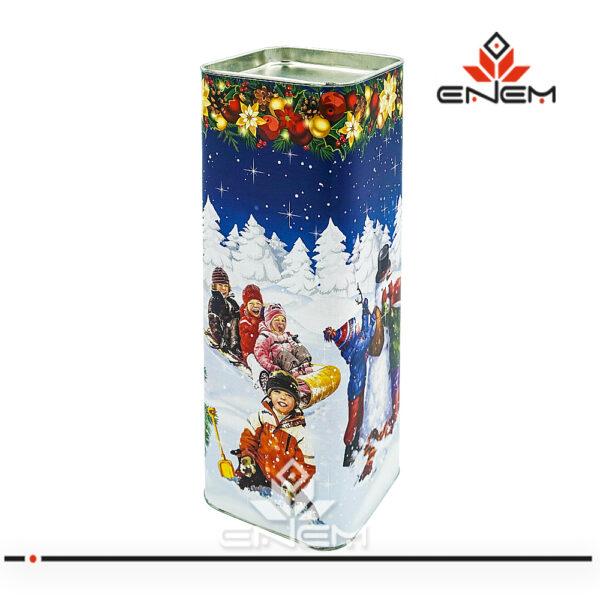 тубус для конфет новорічна упаковка