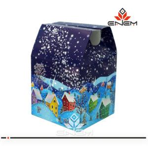 Упаковка новогодняя оптом b1004 - изображение 1 - купить ЭНЭМ