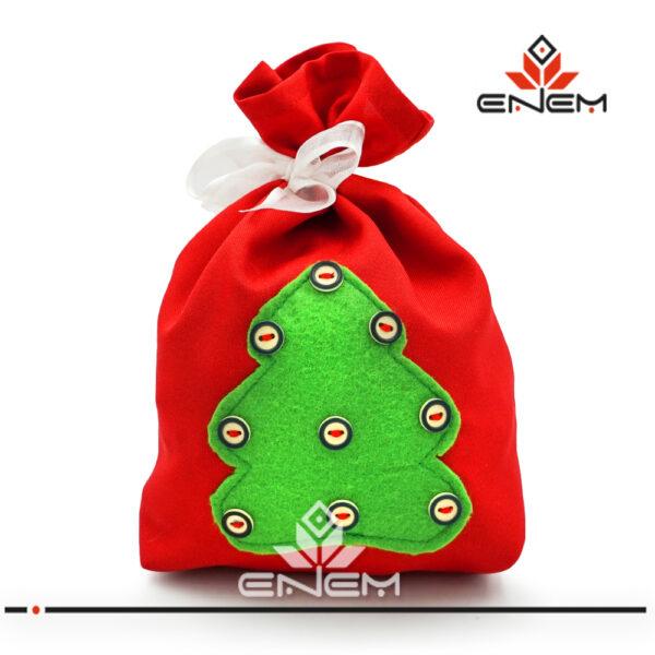 Мешочек для подарков sew013 - фото 3 - купить в ЭНЭМ