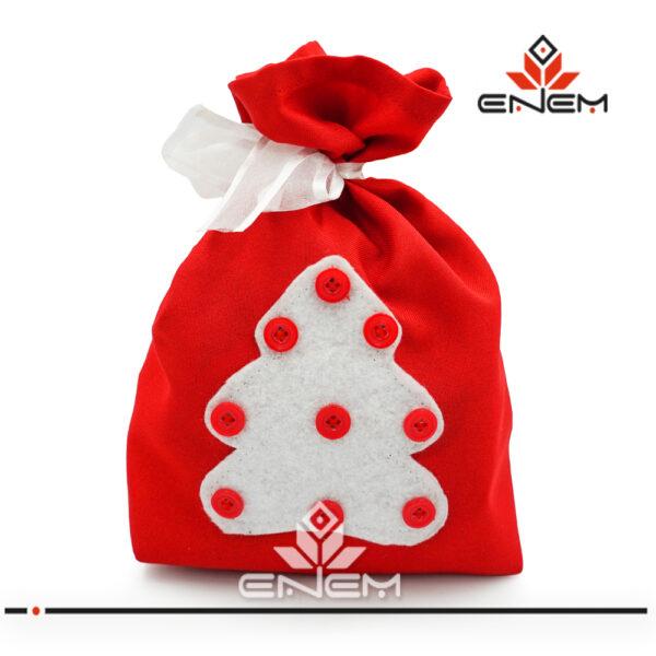 Мешочек для подарков sew013 - фото 2 - заказать в ЭНЭМ